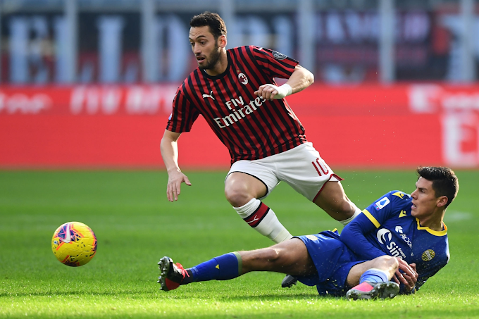 Milan 1-1 Verona: Rossoneri fail to make most of advantage as winning run ends