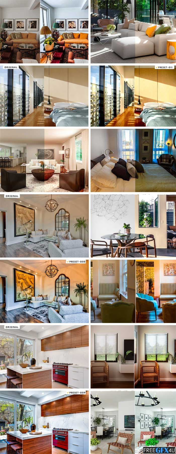 Room Decor Presets & Actions