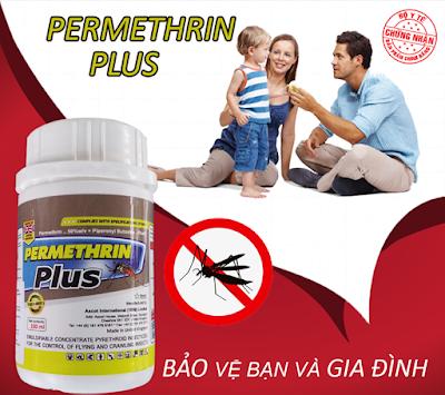 Thuốc diệt côn trùng Permethrin Plus