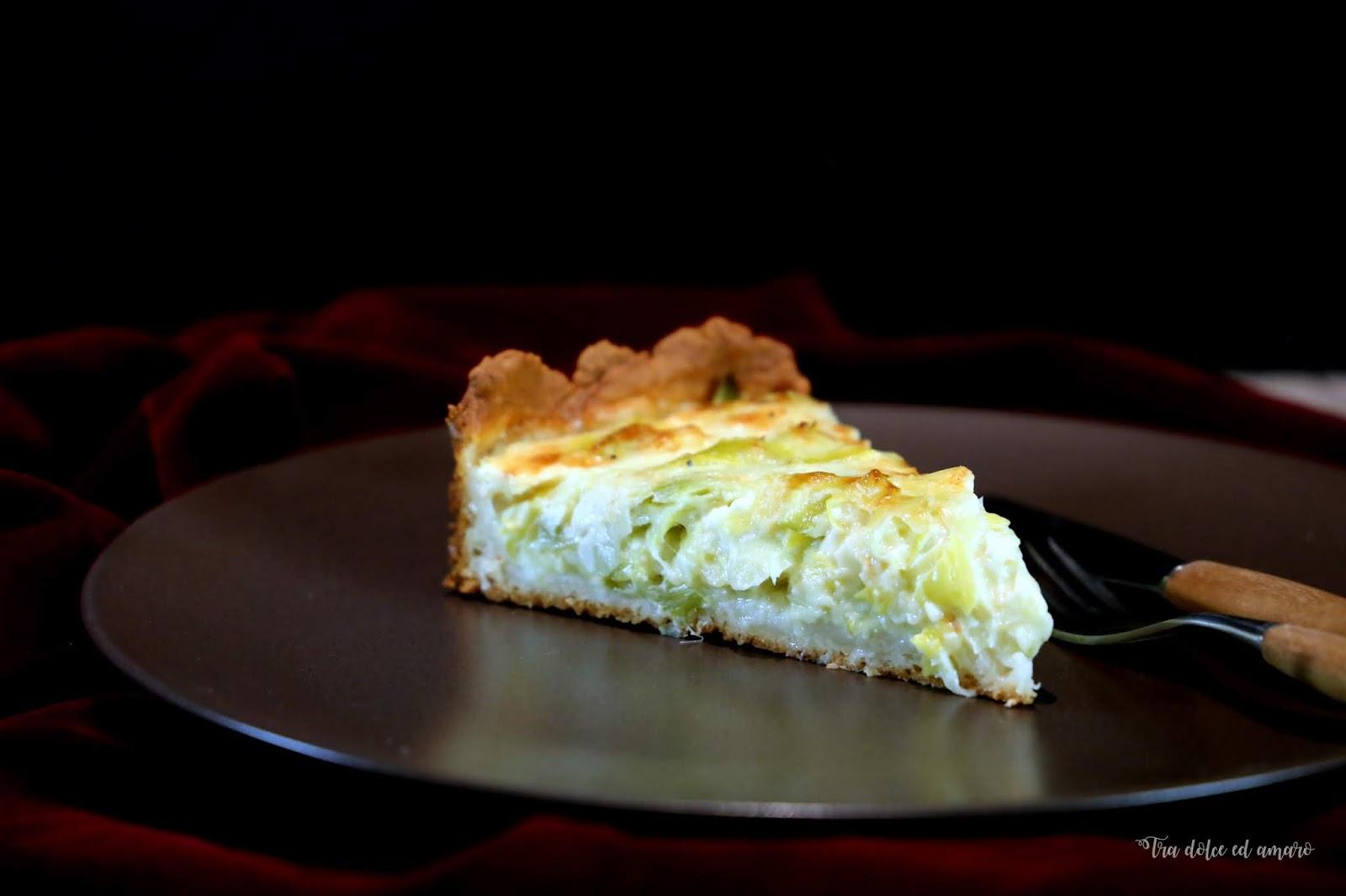 Amerikanischer Kühlschrank Quark : Tra dolce ed amaro: mit turboteig für ungeduldige: käse lauch quiche