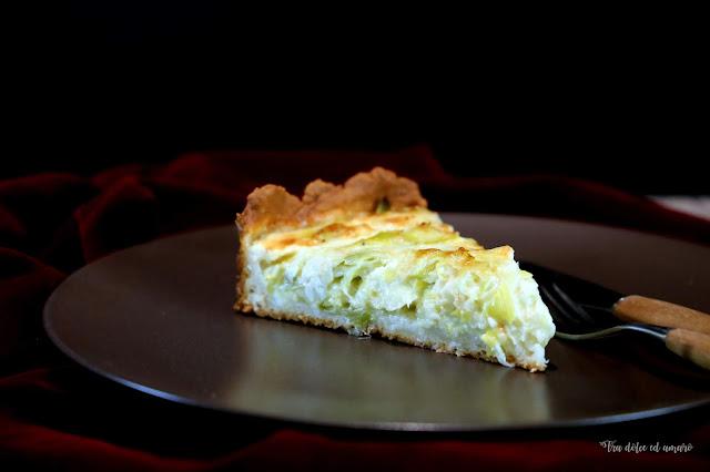 Mit Turboteig für Ungeduldige: Käse-Lauch-Quiche