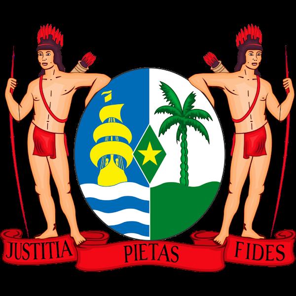 Logo Gambar Lambang Simbol Negara Suriname PNG JPG ukuran 600 px