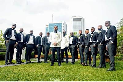 White Wedding Pictures From Sandra Ikeji's Wedding Photo Gallery