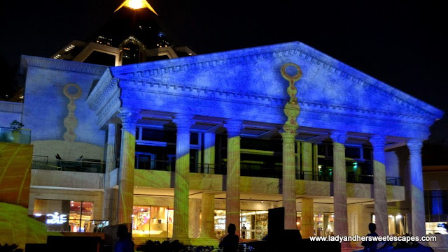 Ramadan Light and Sound Show 10 at Wafi