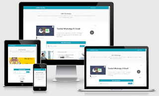 Template Blogger Safelink Bootstrap 2 New Version Responsive