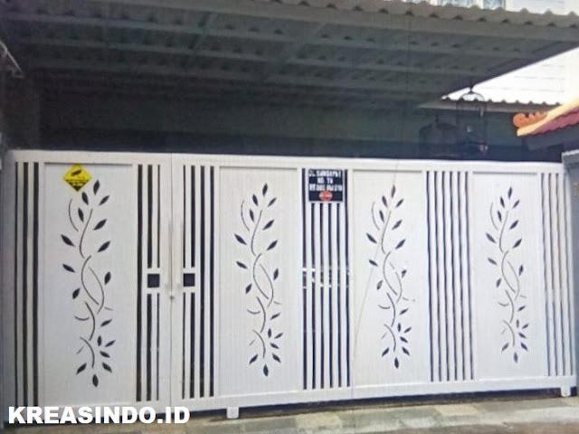 Pintu dan Pagar Laser Cutting Plat Besi Harga Murah Bebas Custom