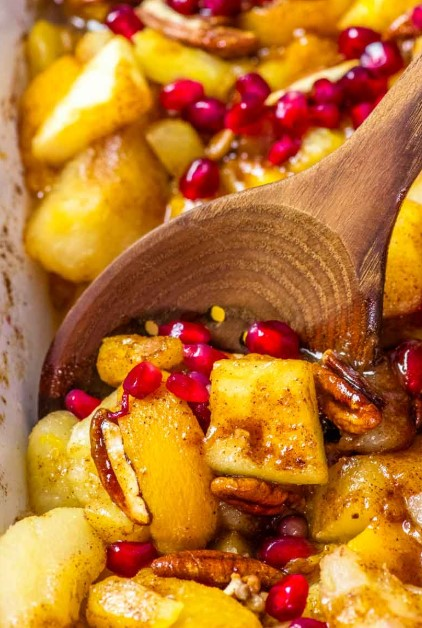 SPICED FRUIT BAKE