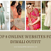 Top 8 Online Ethnic Wear Websites For Women To Shop Diwali Outfit