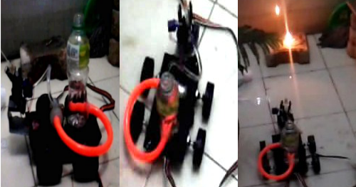 Homemade Fire Fighting Robot [FREE Project Package]