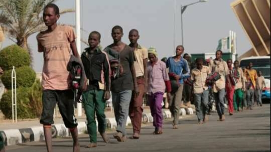 The schoolchildren released from Boko Haram's captivity in Nigeria told stories of the atrocities of this Islamic terrorist organization.