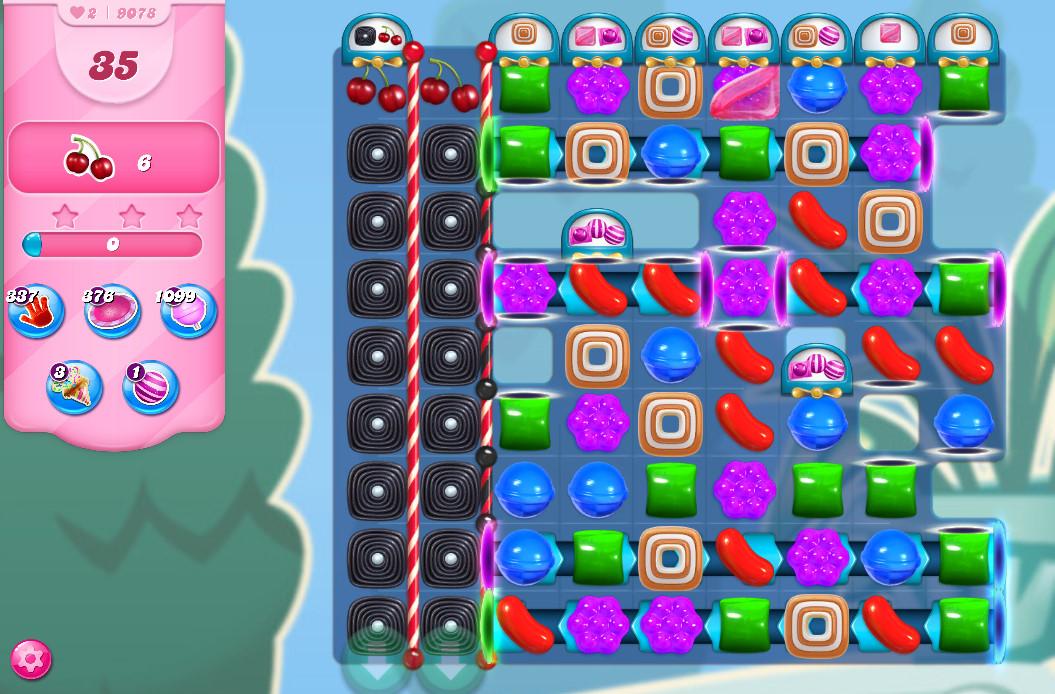 Candy Crush Saga level 9078