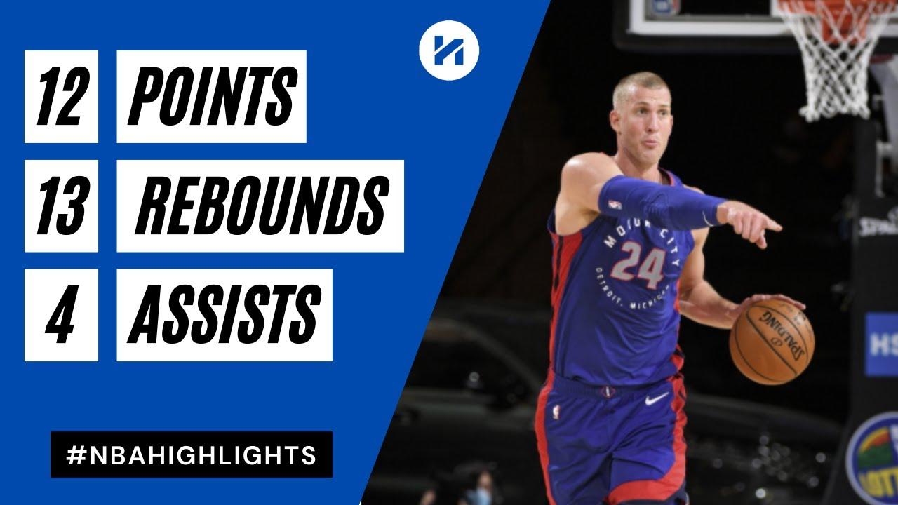 Mason Plumlee 12pts 13reb 4ast vs NYK | March 4, 2021 | 2020-21 NBA Season