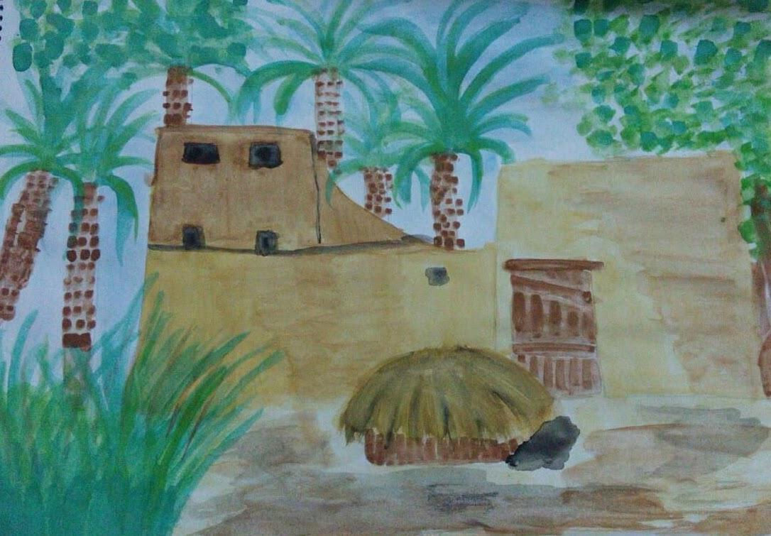 رسومات طبيعة عمانية Tabiea Blog