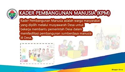 Kader Pembangunan Manusia KPM