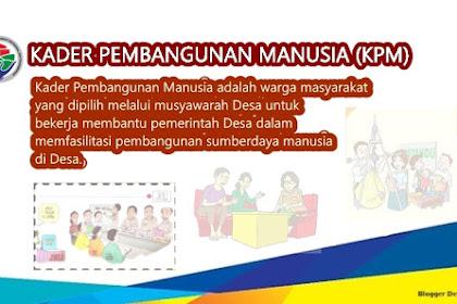 Contoh SK Kepala Desa tentang Pembentukan Kader Pembangunan Manusia