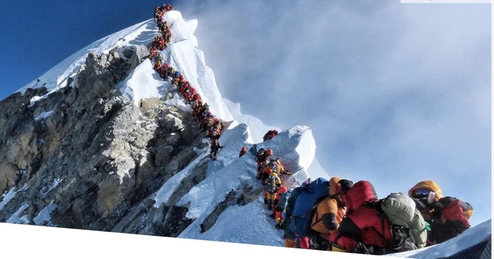 An analysis of the deadly conditions of mt everest in the conquest of everest by sir edmund hillary