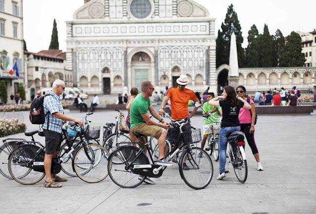 Passeios de bicicleta em Florença