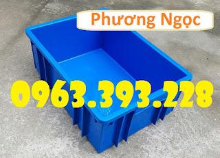 Thùng nhựa công nghiệp, thùng nhựa đặc B3, hộp nhựa đựng đồ cơ khí 2a6545b31e40fc1ea551