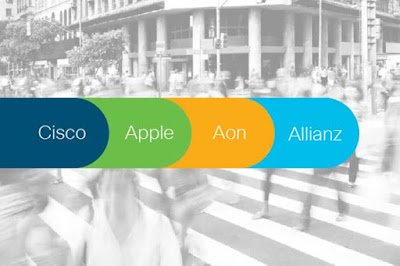 Cyber Security Solution by CISCO Apple AON and Allianz
