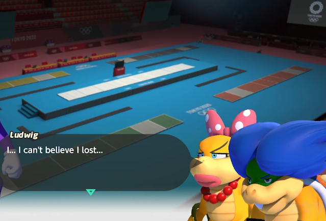 Ludwig Von Koopa can't believe I lost Mario & Sonic at the Olympic Games Tokyo 2020 fencing story mode