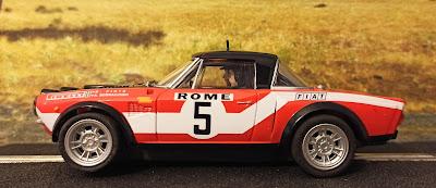 Fiat Abarth 124 Scalextric