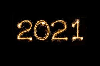 Foto ilustrasi gambar tahun baru 2021