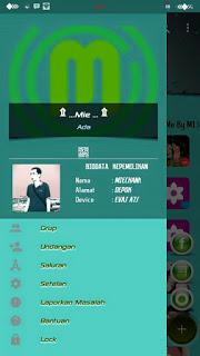 Download BBM MOD Smooth Green V3.0.1.25