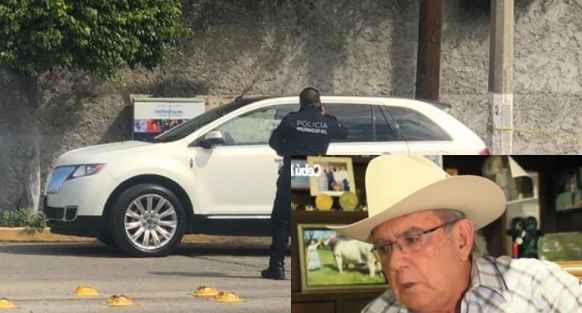 En Chiapas empresario el ganadero de Cebú y Brahman Alfredo D´Argence Morell es ejecutado en su Camioneta