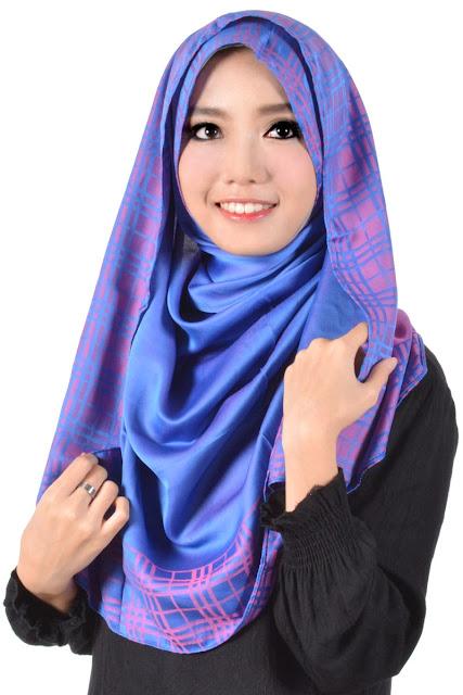 Gambar Hijab Modern Segi empat
