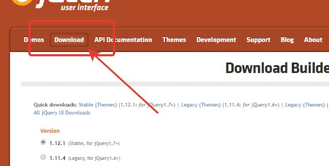 jquery UI download