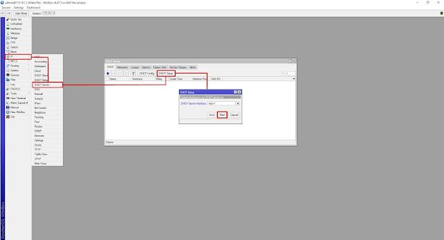 Setting DHCP Server Mikrotik RB941