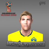 PES 6 Faces Ludwig Augustinsson by Gabo Facemaker