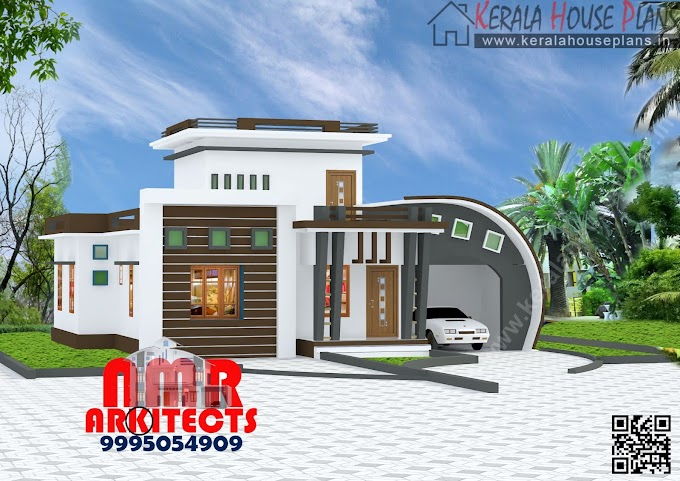 1150 sqft. Single floor Modern House Design