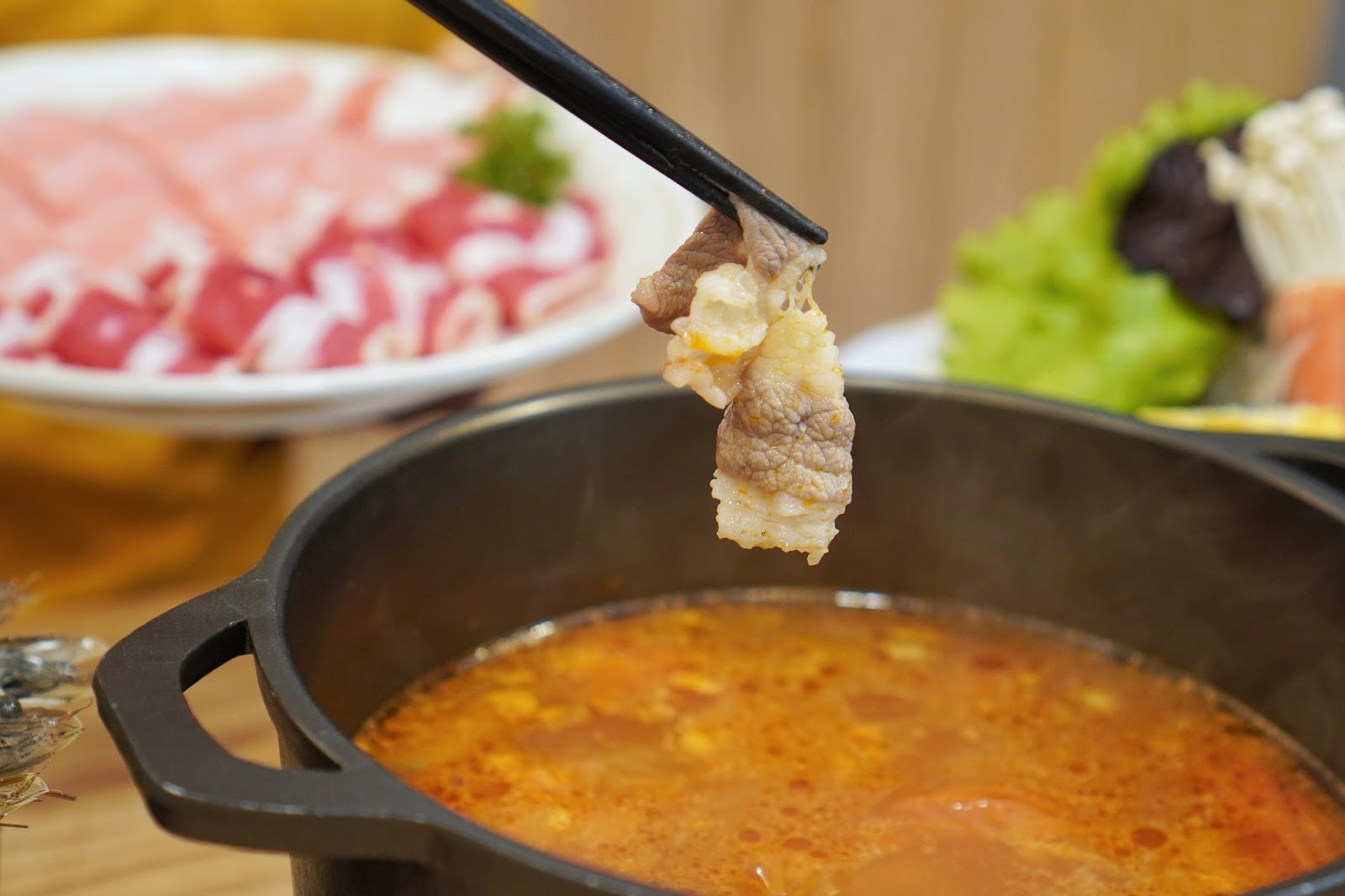 台南中西區美食【小蔡什鍋】餐點介紹 煮牛肉