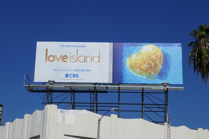 Love Island US season 2 billboard