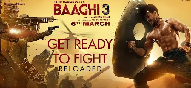 Get Ready To Fight Reloaded Hindi Song Lyrics - Baaghi 3