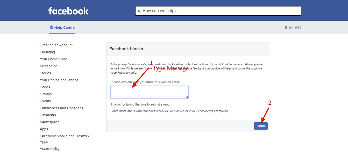 Facebook Par Block URL Ko Unblock Kaise Kare
