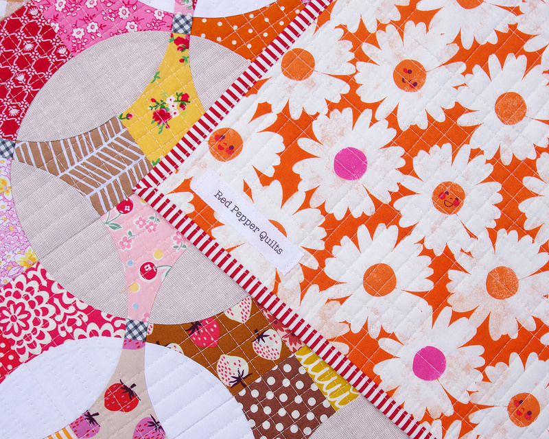 Berry Marmalade ~ A Flowering Snowball Quilt   © Red Pepper Quilts 2017