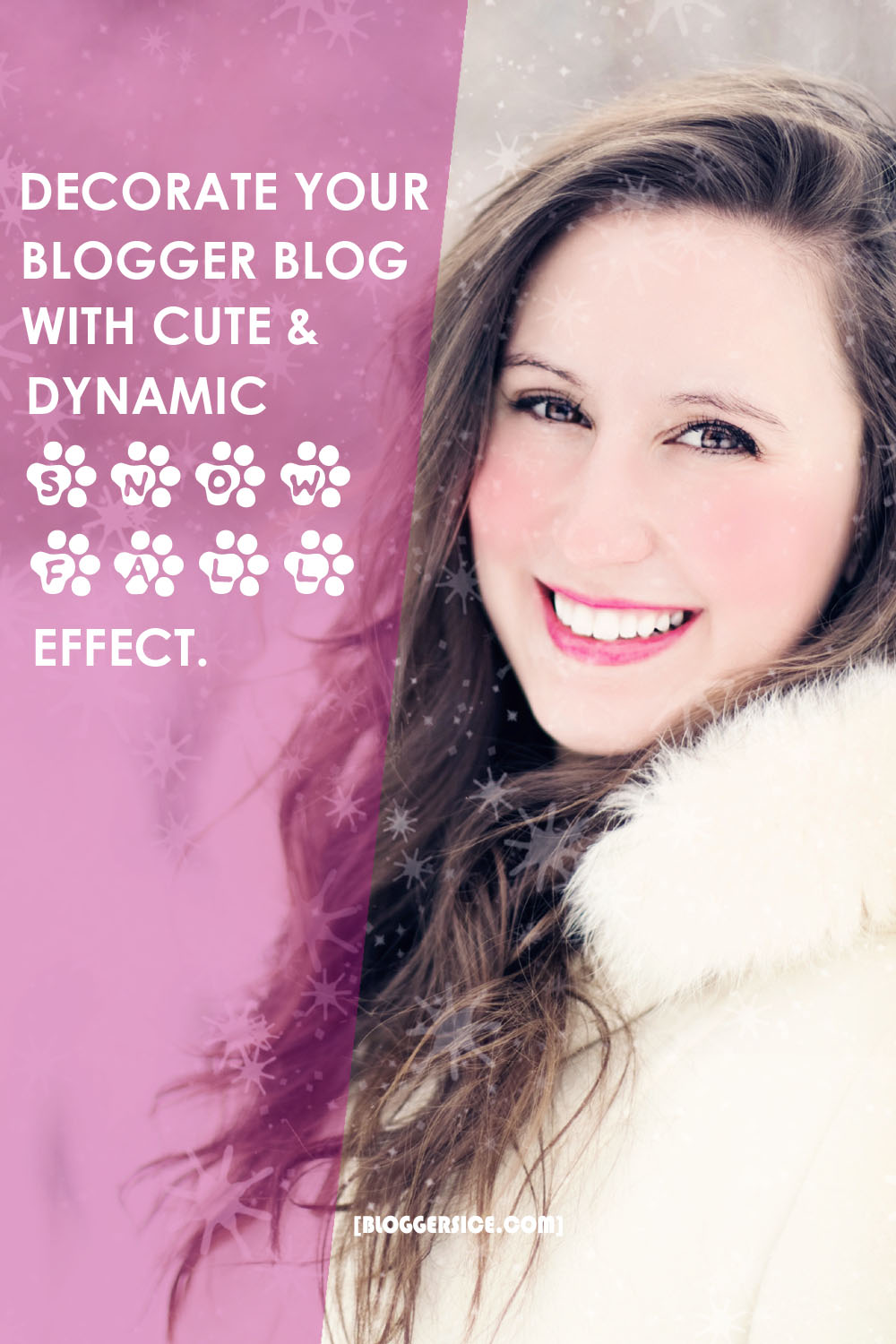 add Snow Fall Effect in blogger