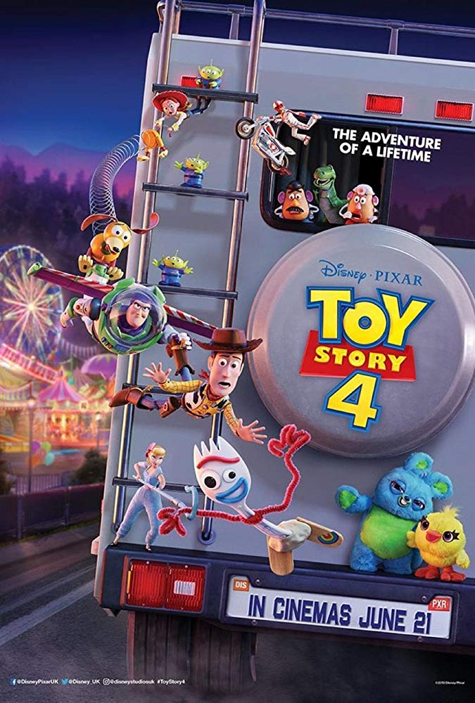 Toy Story 4, Tom Hanks, Keanu Reeves, Tim Allen, Animation, Comedy, Pixar Animation, Walt Disney Pictures, Rawlins GLAM, Movie Review by Rawlins,