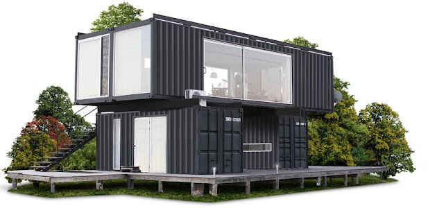 2x40 ft and 2x20 ft Shipping Container Home by Project Container, Uruguay 14