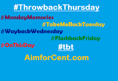 What is Throwback Thursday and Use of #tbt #Mondaymemories #Waybackwednesday #onthisday #flashbackfriday #tekemebacktuesday #tbt #throwbackthursday