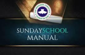 21 June 2020 RCCG Sunday School TEACHER's Manual