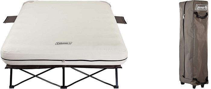 Coleman Folding Camping Cot (Air Mattress & Pump Combo)