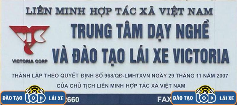 trung tam day nghe va dao tao lai xe victoria Ha Noi