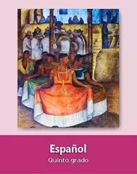 Libro de texto  Español Quinto grado 2019-2020