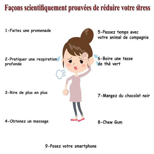 9 Façons scientifiquement prouvées de réduire votre stress