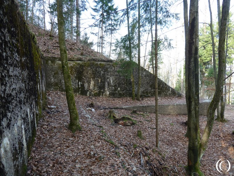 Foundations of the former Berghof in Berchtesgaden Germany