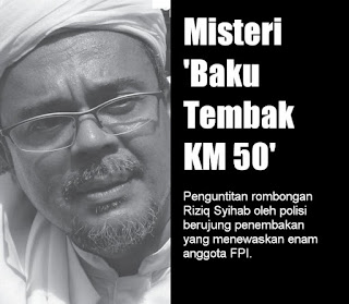 Misteri 'Baku Tembak KM 50' - Info Internal Polisi