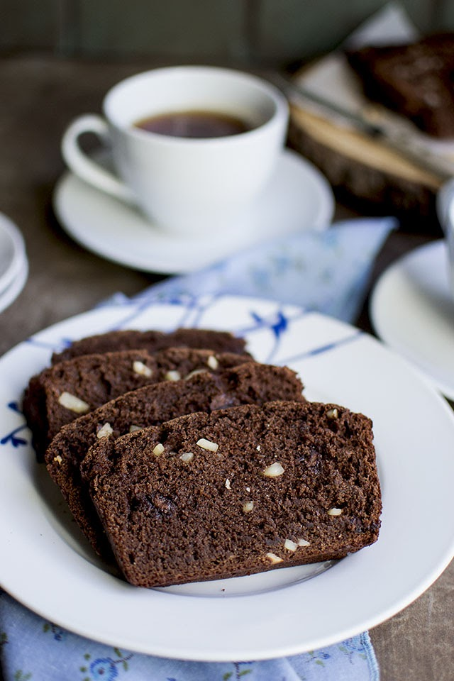 Chocolate Almond Bread